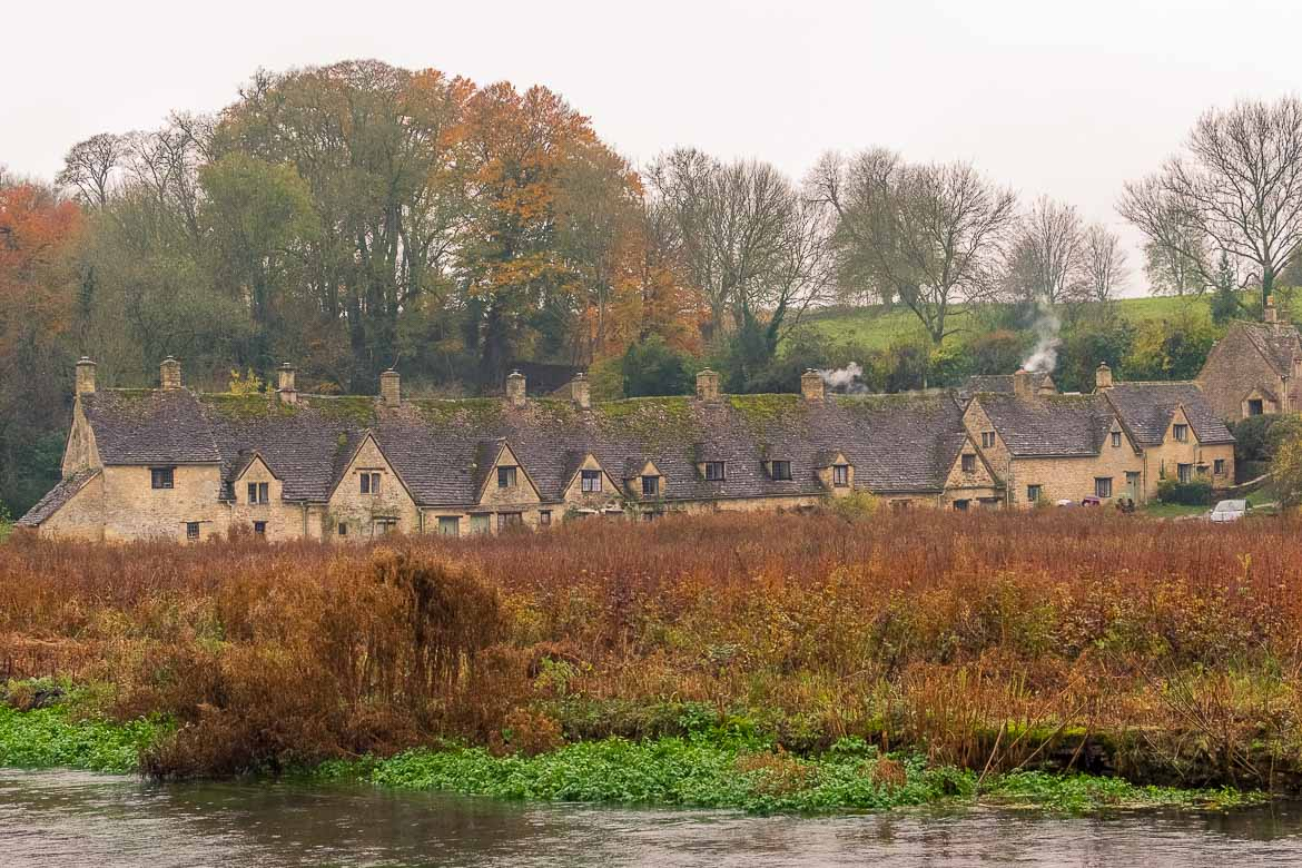 This is a shot of Arlington Row in Bibury.