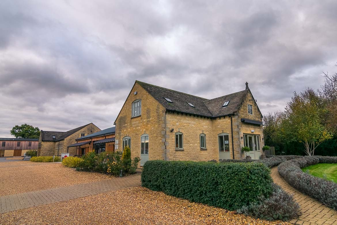 This is an image of the Cotswolds Distillery which is housed at a traditional Cotswold stone cottage.