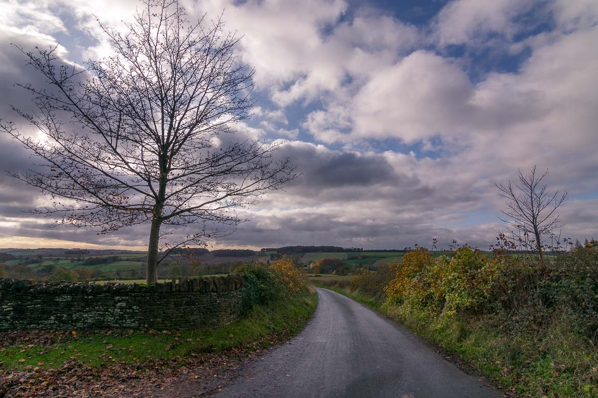 This photo was shot somewhere along the way on our Cotswolds road trip. It shows the outstanding beauty of the Cotswolds countryside.