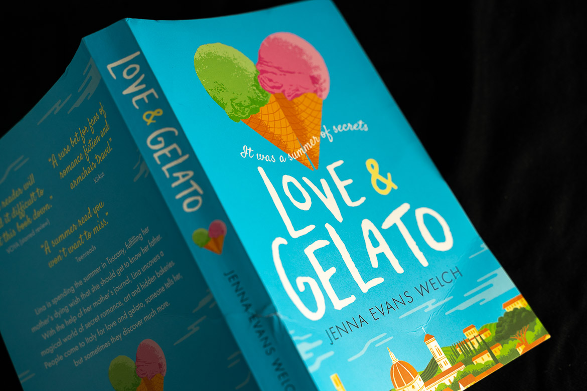This image shows a paperback edition of Love and gelato by Jenna Evans Welch, one of the most heartwarming books set in Italy.