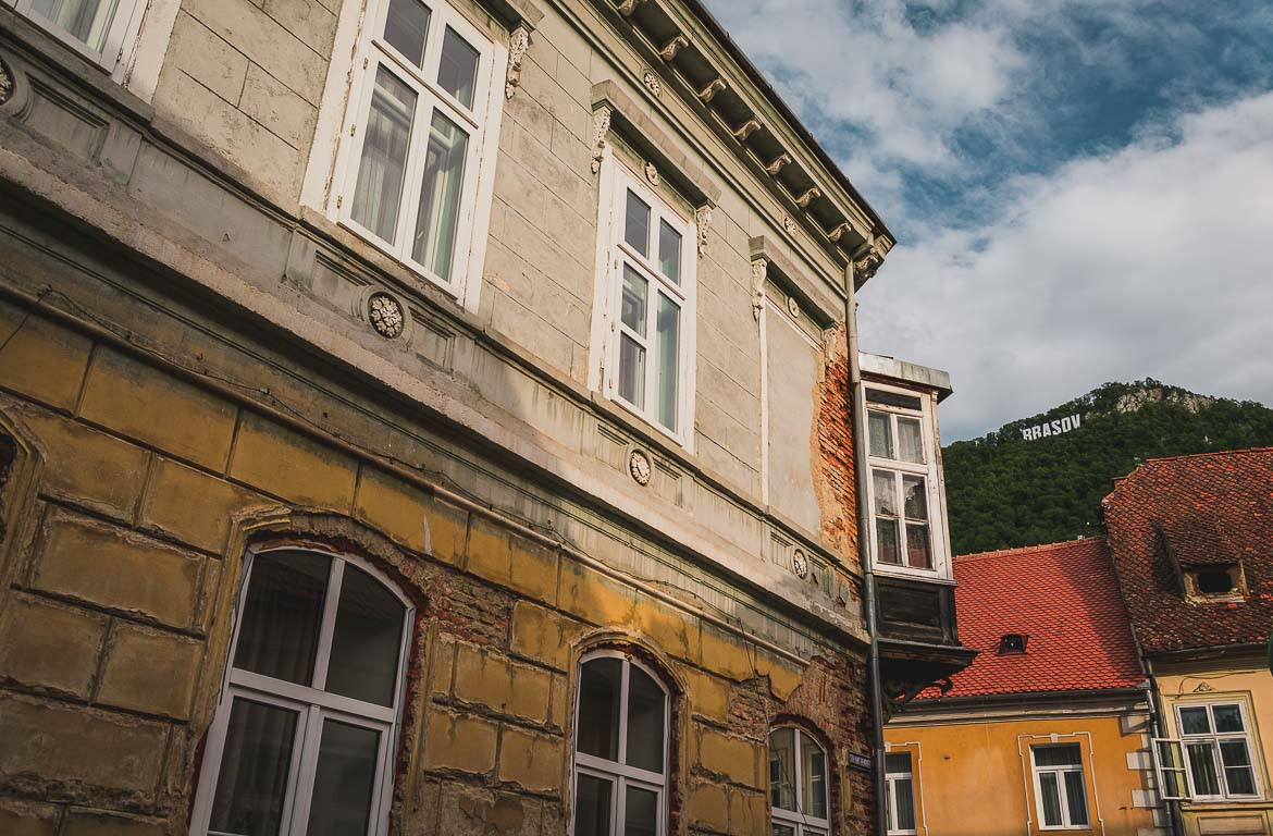 The historic centre of Brasov is utterly charming.