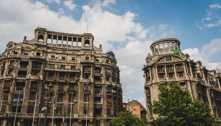 Bucharest walking tour of Communism