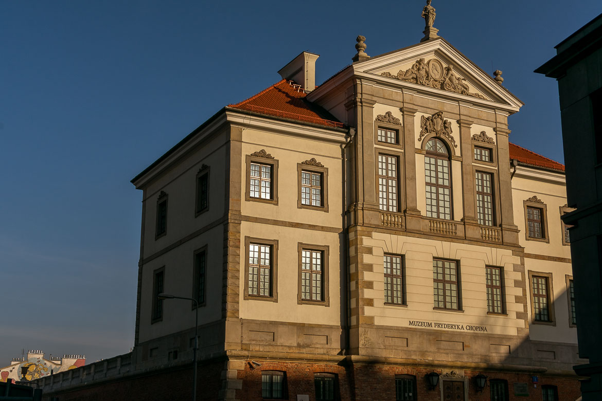 Chopin Museum in Warsaw Poland. Winter in Warsaw. Top things to do and Warsaw city guide.