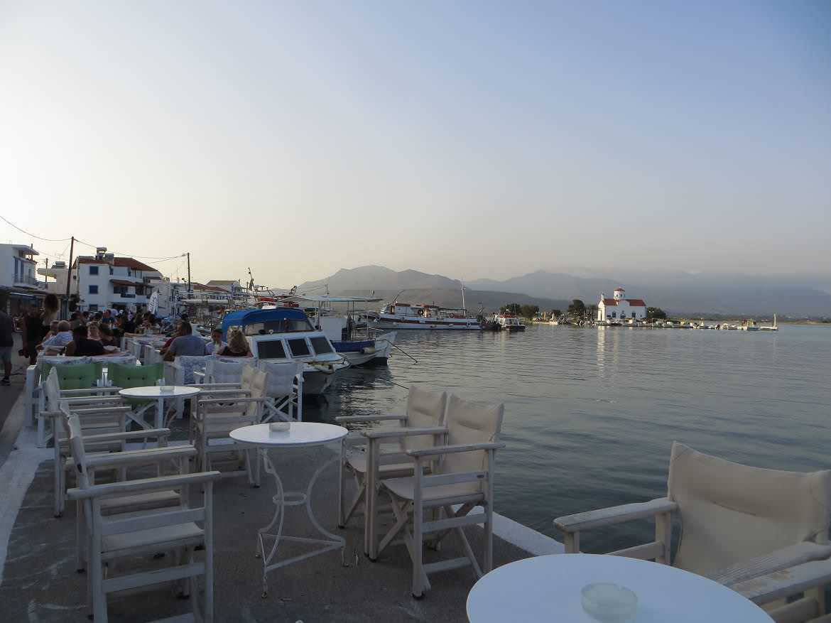This is a photo of Elafonisos, the tiny Greek island overlooking the tip of Laconia region in the Peloponnese.