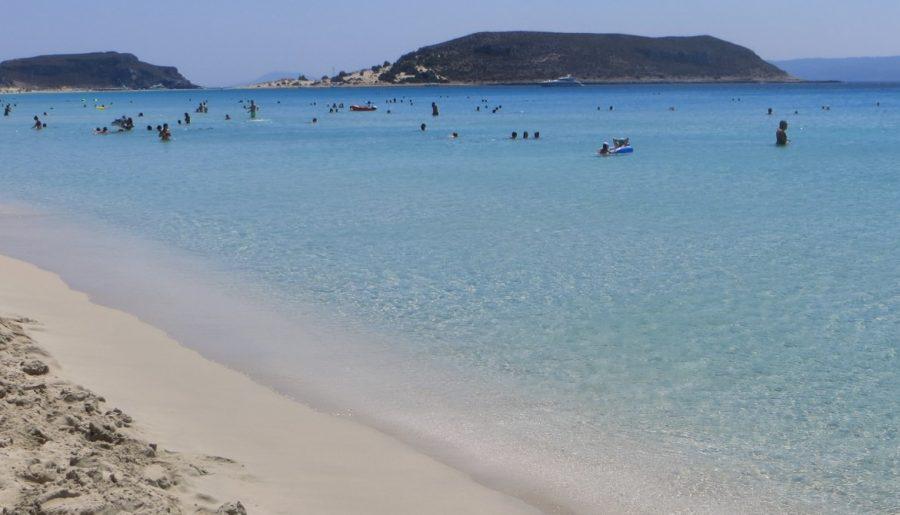 Elafonisos beach therapy