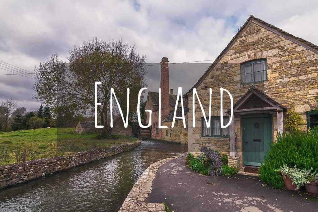 This image shows the Old Mill in Lower Slaughter. Lower Slaughter is one of the best villages in the Cotswolds in England. This photo is the cover of England as a destination.