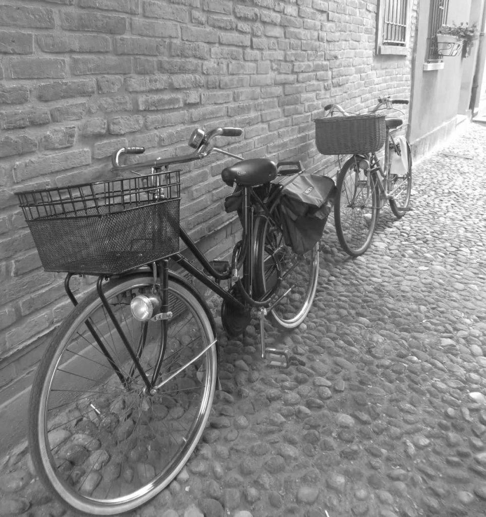 Ferrara Emilia Romagna Italy bikes bicycles cycling