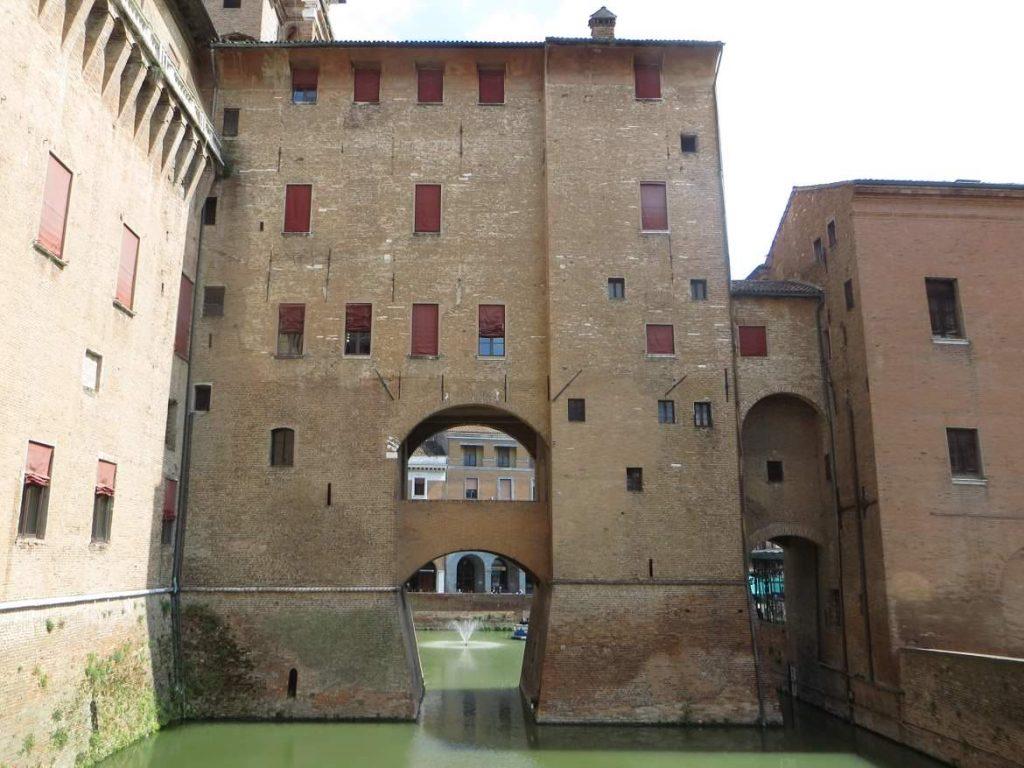 Ferrara Emilia Romagna Italy Este castle Castello estense