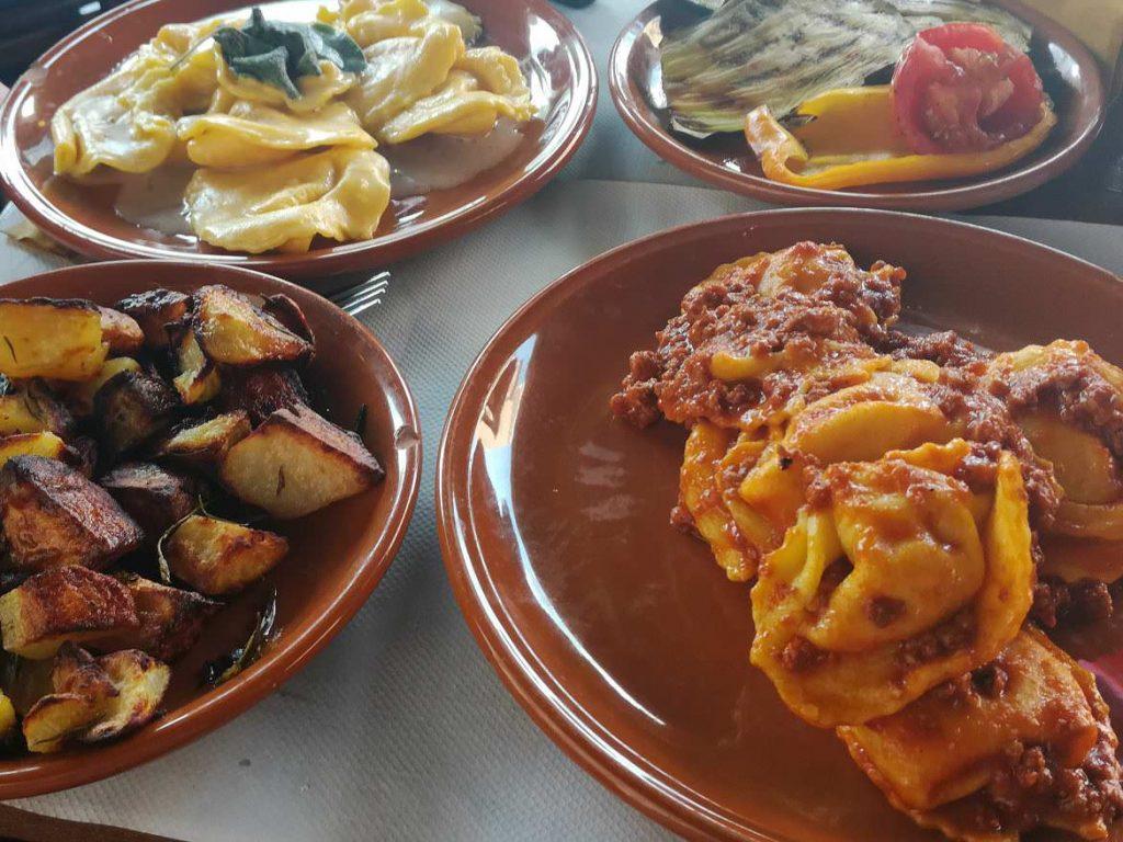 Ferrara Emilia Romagna Italy food I quattro angeli