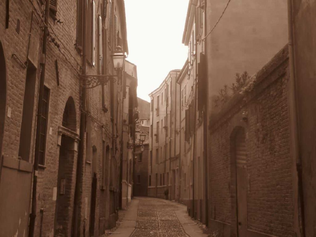 Ferrara Emilia Romagna Italy old town romantic alleys day trip Bologna Venice