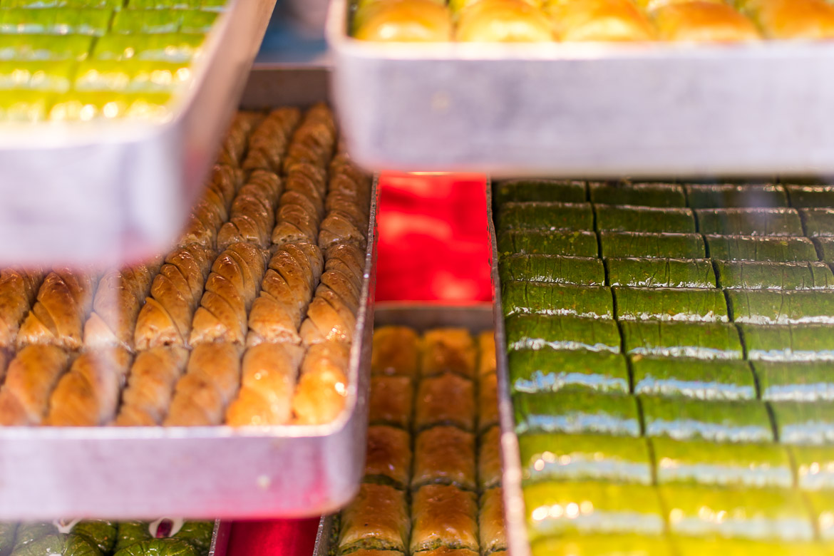 Baklava is Turkey's most popular dessert for good reason. Istanbul food guide: Sugar, spice and love.