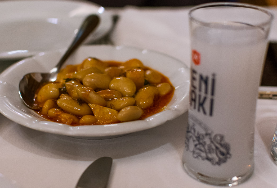Raki is the alcoholic drink of choice for most Turks. Istanbul food guide: Sugar, spice and love.