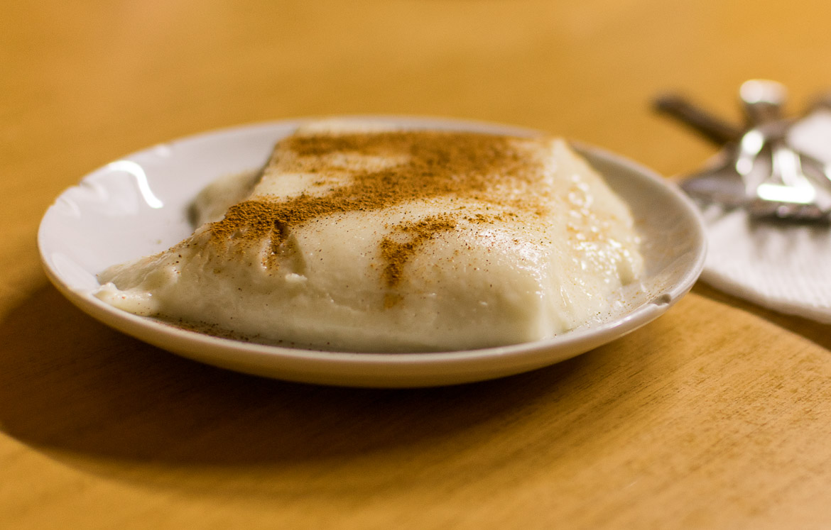 Tavuk göğsü is a typical Turkish dessert. One of its main ingredients is chicken breast! Istanbul food guide: Sugar, spice and love.