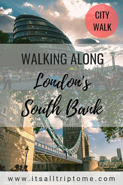 One of the most beautiful walks in London is the one along the South Bank of the Thames. The Tower Bridge, the London Eye and spectacular views to the Big Ben are only a few of the top sights on this amazing walking route. #citywalk #southbank #londontravel #visitlondon #london #uk #europe