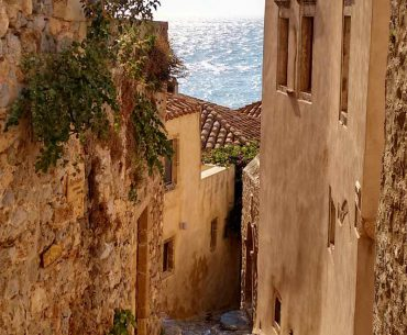 Monemvasia, the medieval castle untouched by time