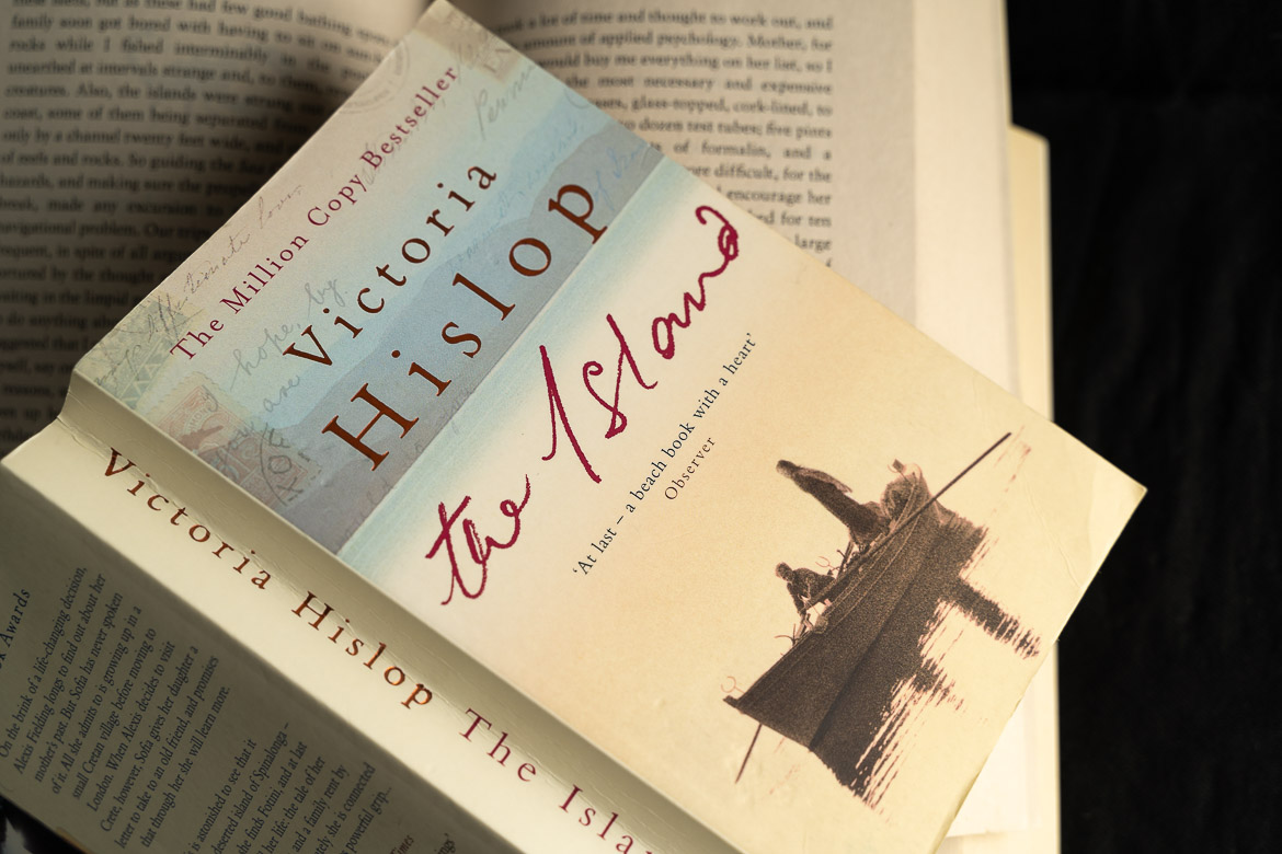 This is an image of a paperback edition of The Island by Victoria Hislop.