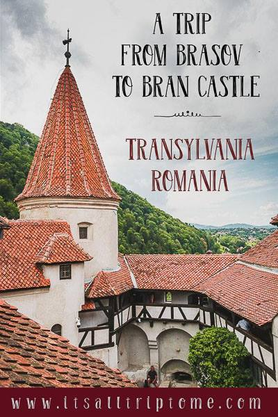 How to plan the perfect half day trip from Brasov to Bran Castle in Romania. Tips and inspiration to help you make the most of your visit to Castelul Bran. Find out if this is the real Dracula's Castle! #daytrip #brasov #transylvania #romania #traveldestinations