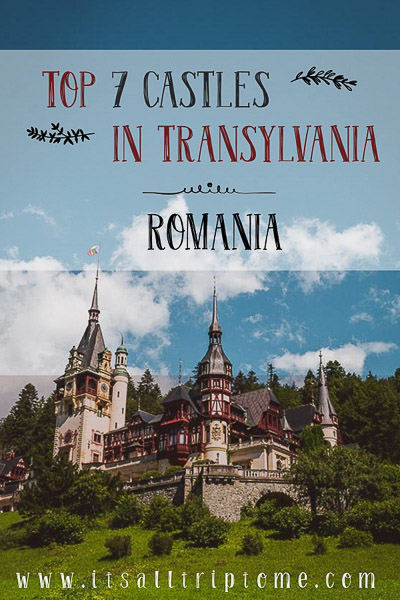 Top 7 Romanian Castles in Transylvania. 7 of the most beautiful Romanian castles that will inspire you to visit the magical scenery of Transylvania. #castles #transylvania #romania #roadtrip #travel