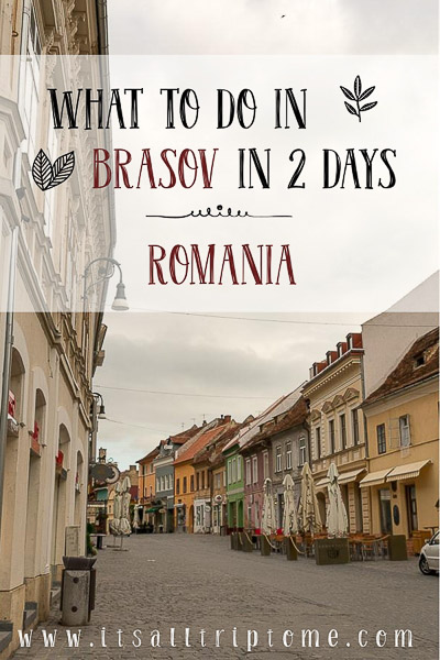 What to do in Brasov Romania in 2 days. Located at the very heart of Romania, Brasov is a beautiful picturesque city and also serves as an excellent base to explore the breathtaking Transylvania region and the Romanian castles on a roadtrip. Here is a full guide with things to do in Brasov in 2 days. #transylvania #romania #visitromania #roadtrip #travel #traveleurope #travelbudget #traveldestinations