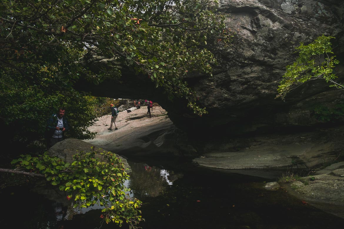 This photo shows the area around Pithara waterfall we visited during the 1st Andros On Foot walking festival.