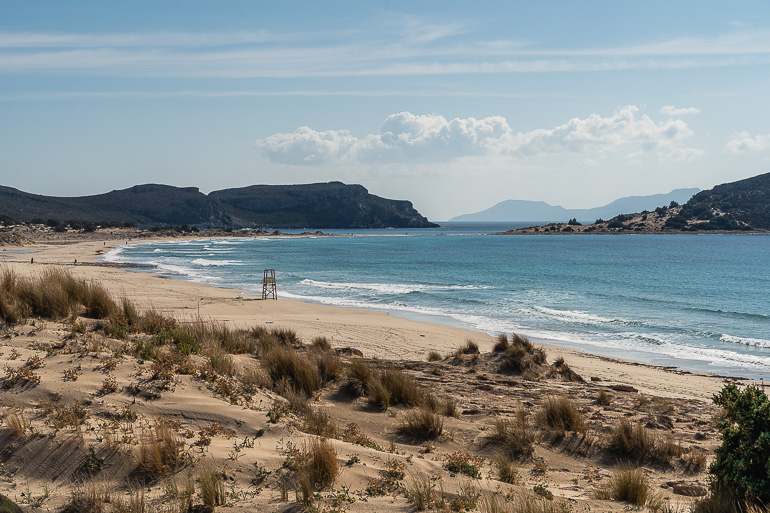 This image shows Simos beach in Elafonisos.