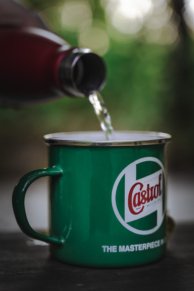 This image shows a green cup.