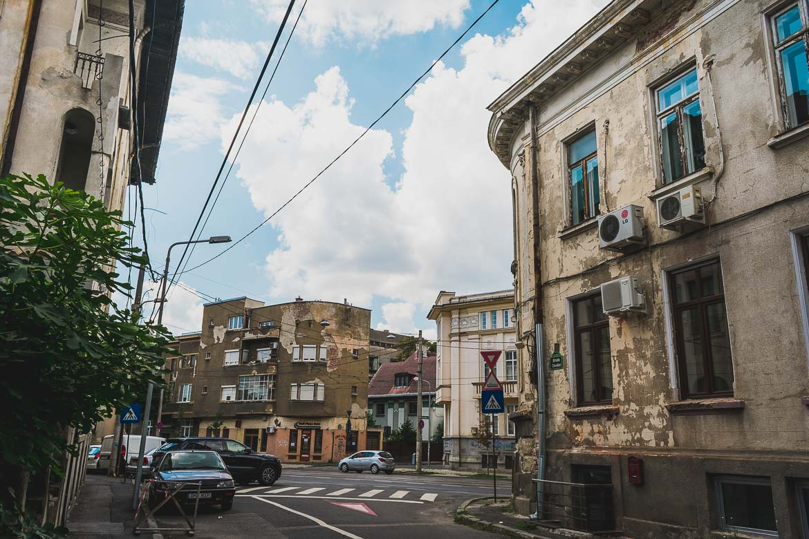 During our Bucharest walking tour of Communism, we realised that most buildings in the capital of Romania are in seriously bad shape.