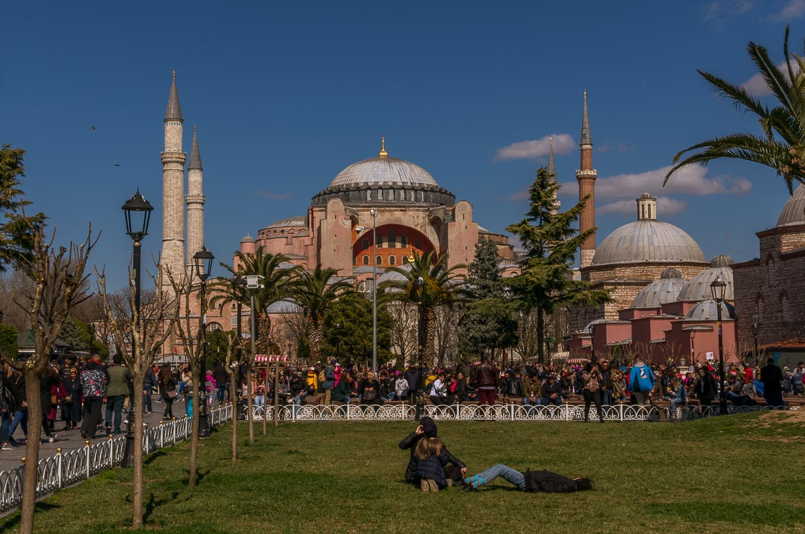 Hagia Sophia. The best sightseeing tours in Istanbul.