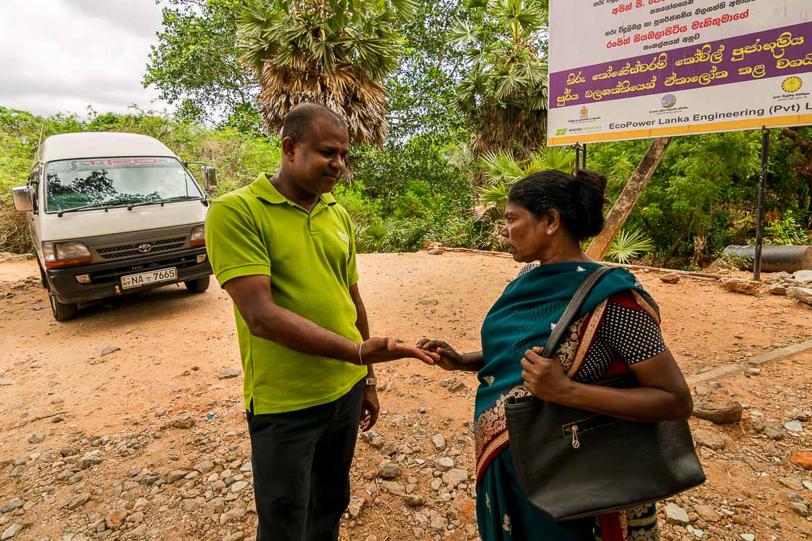 This photo shows our driver Pradeep while a fortune teller is carefully examining his palm ready to deliver the verdict about his future.