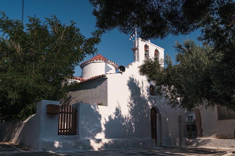 This image shows Xylopanagia church in Panagia village.