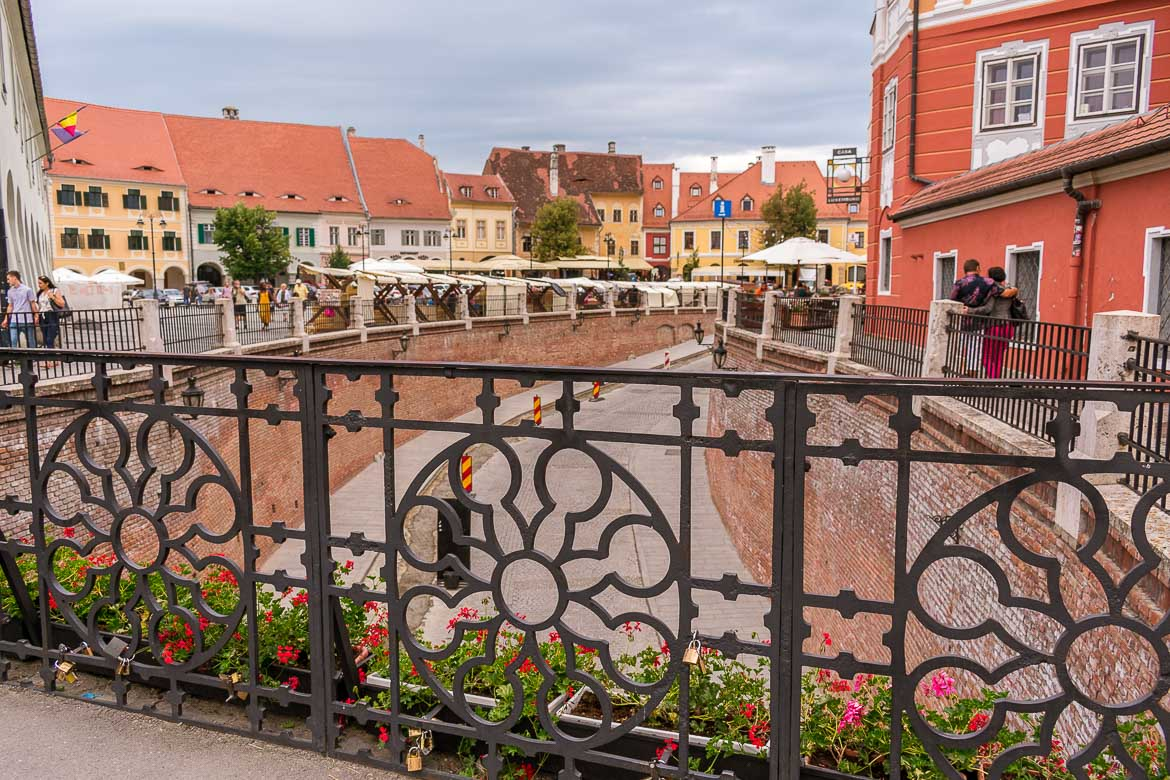 The Bridge of Lies is an iconic landmark in Sibiu Romania. 11 amazing things to do in Sibiu Romania.