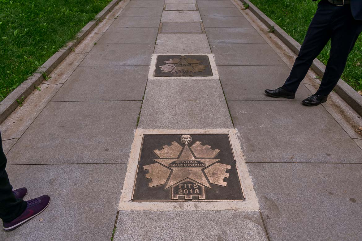 Sibiu in Romania has its very own walk of fame on Strada Cetatii. 11 amazing things to do in Sibiu Romania.