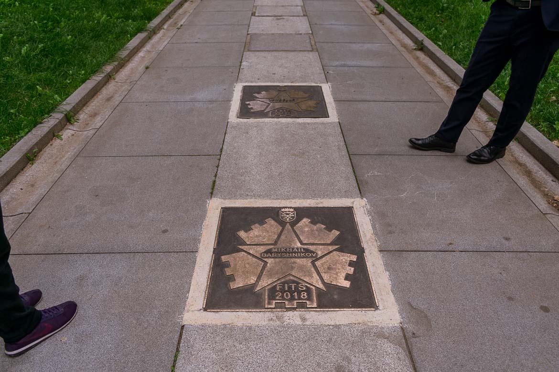 Sibiu in Romania has its very own walk of fame on Strada Cetatii. 11 amazing things to do in Sibiu Romania.