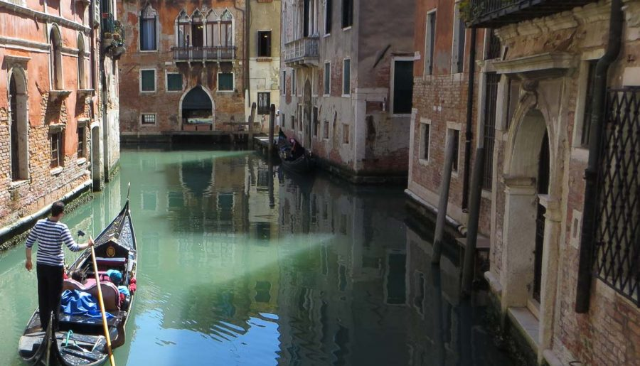 The best gondola ride in Venice