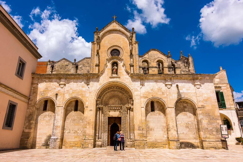 This image shows the beautiful facade of San Giovanni Battista church.