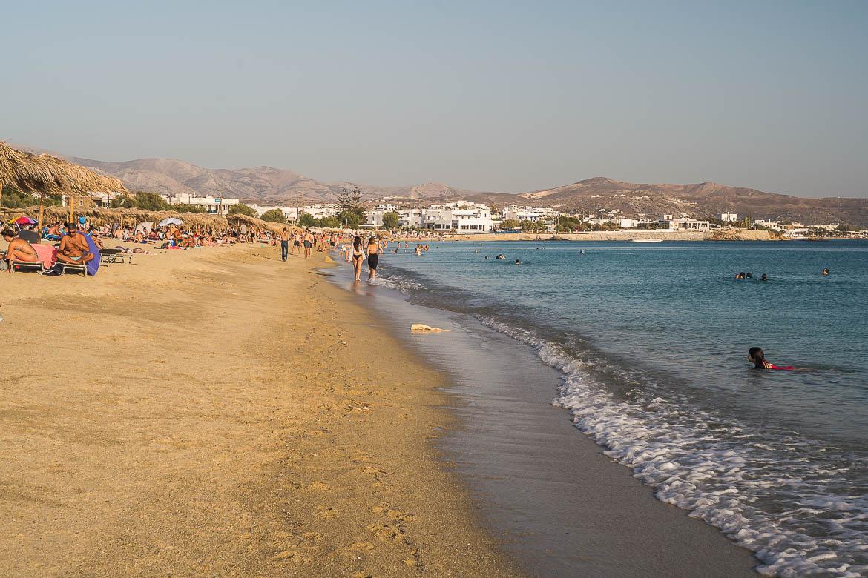 This image shows Agios Prokopios Naxos.