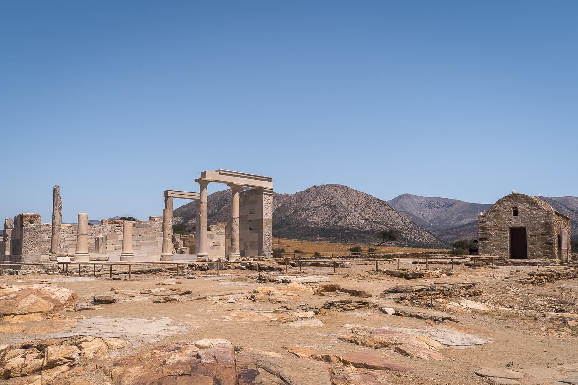 This image shows the temple of Demeter.