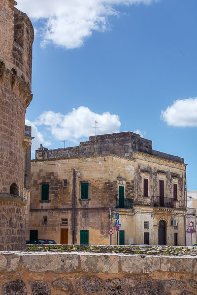 This is a photo of the old town in Corigliano d' Otranto.