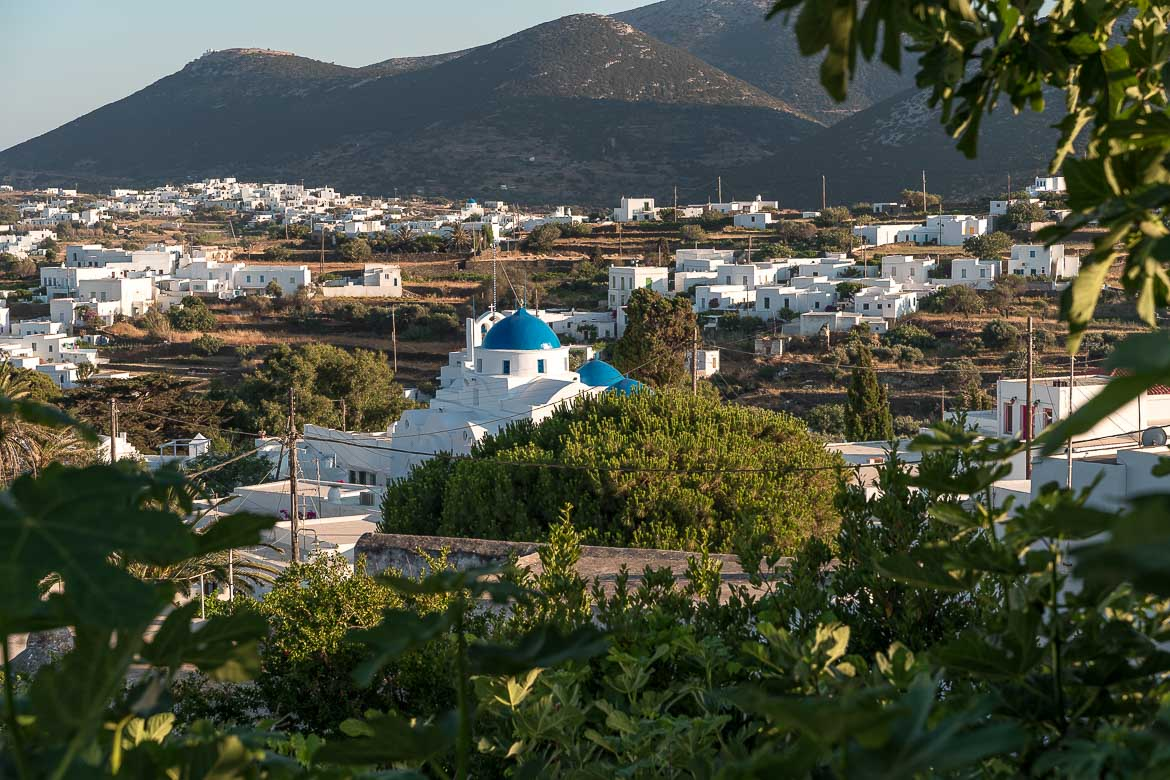 This is a panoramic shot of Artemonas village.