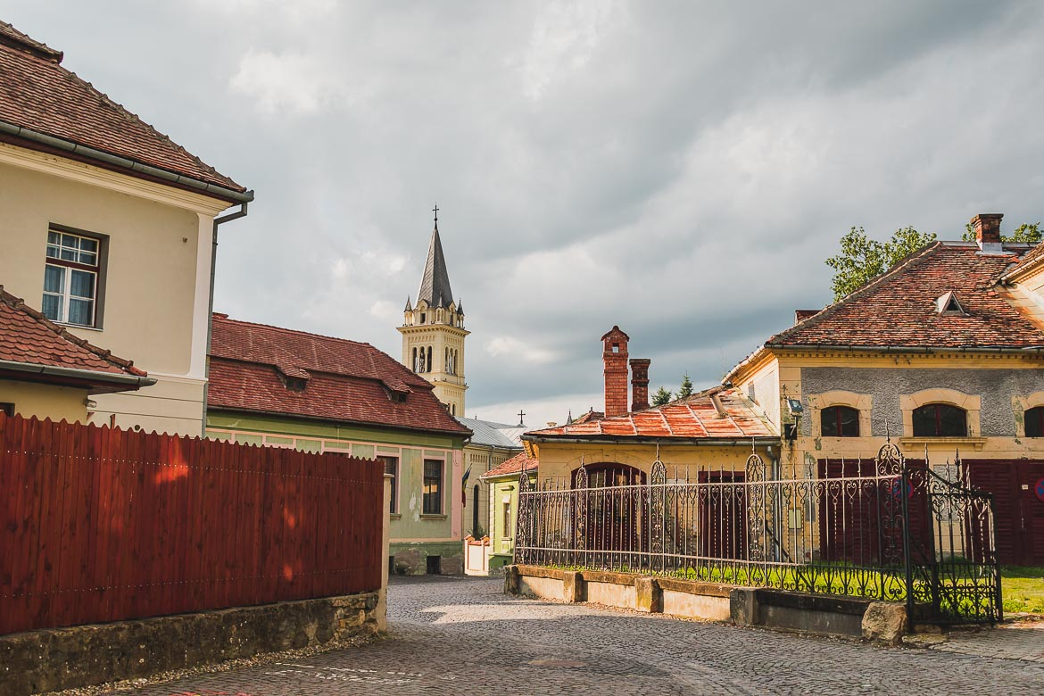 Sighisoara's Old Town is full of charm. What to do in Sighisoara Romania in 24 hours.